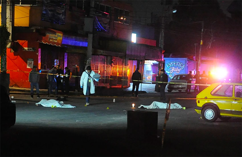 Two of the 31,688 homicides recorded so far this year.