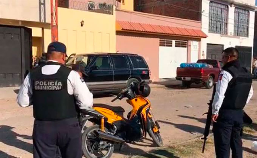 The addictions center from which youths were taken in Irapuato.