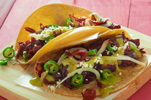The filling is good for tacos or sandwiches.