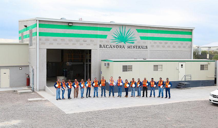 Bacanora's pilot project in Hermosillo, Sonora.