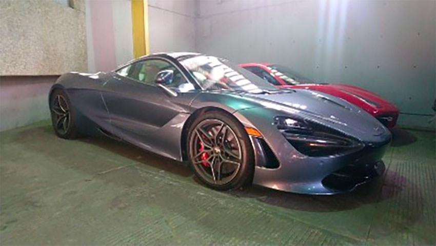 This 2018 McLaren 720S is valued at 3.61 million pesos.