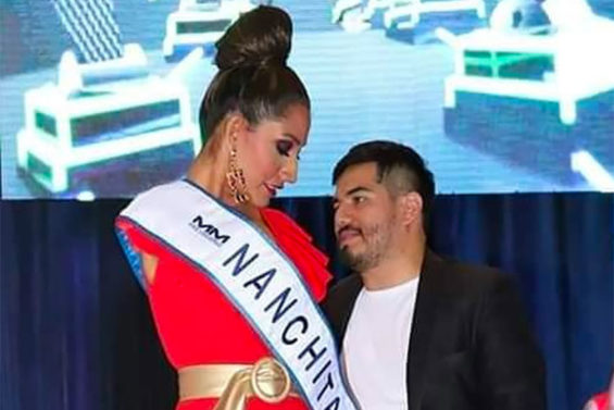 Miss Nanchital 2020 is going for the Miss Veracruz crown.