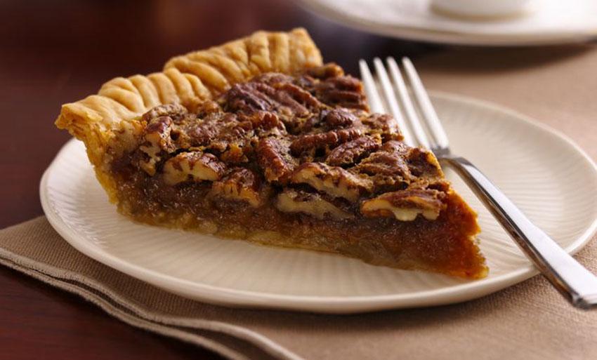 Holiday season is baking season: time for some pecan pie.