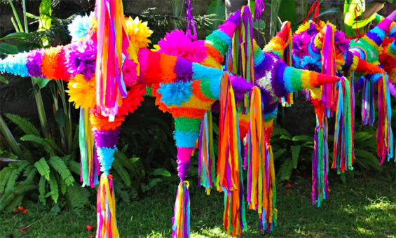 You'll find plenty of piñatas at this weekend's fair.