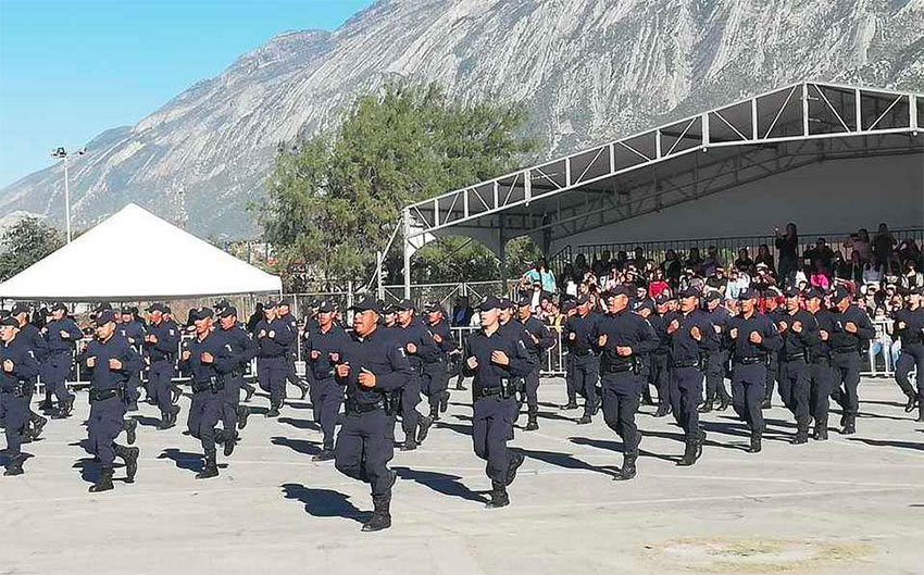 Police academy grad class is largest ever.