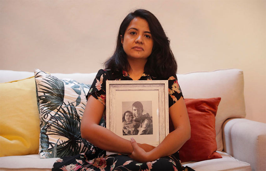 Mariana, the cousin of a murder victim, claims little was done to investigate the killing.