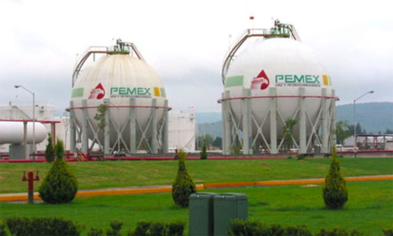 pemex tank farm