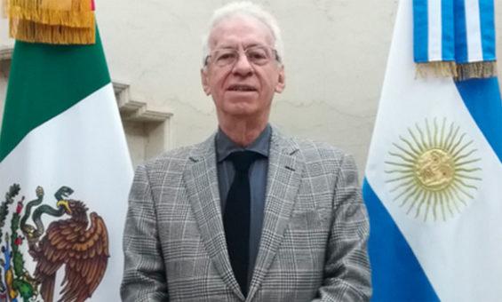 Ambassador Valero resigned on Sunday.