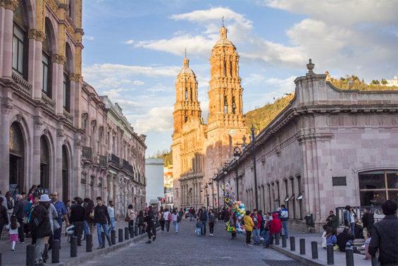 Zacatecas, New Year's hotspot.