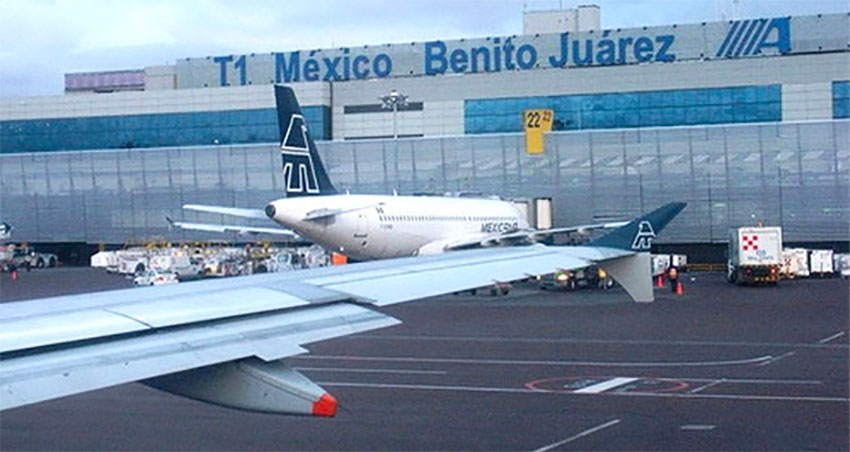 Mexico City airport is running well over capacity.