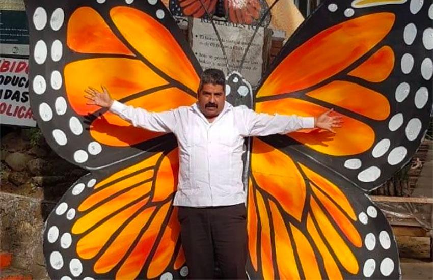 Butterfly defender Gómez.