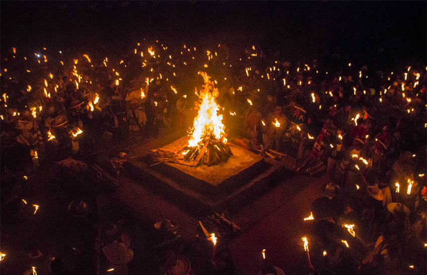 New Fire ceremony celebrates the New Year.