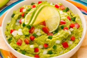 It's guacamole season in the US.