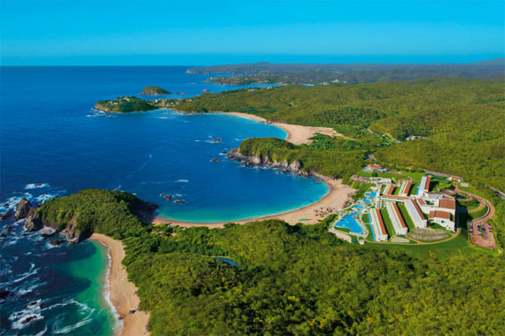 Huatulco is one of eight destinations earmarked for maintenance spending.