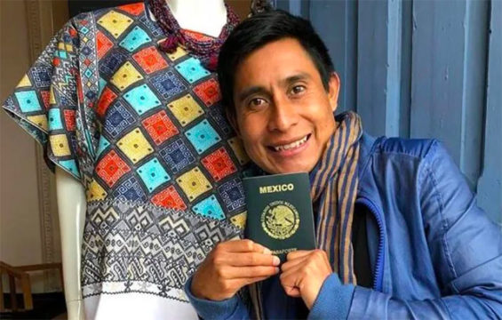 Designer and weaver López is off to New York.