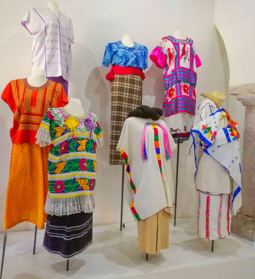 On display are 90 complete outfits representing 25 ethnic groups from 16 states.