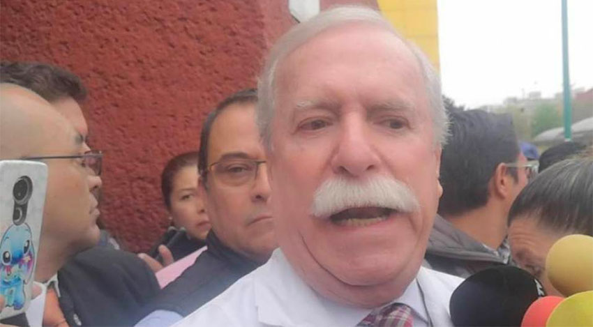 Hospital director Nieto and others accused of doing 'juicy business' with drug contracts.