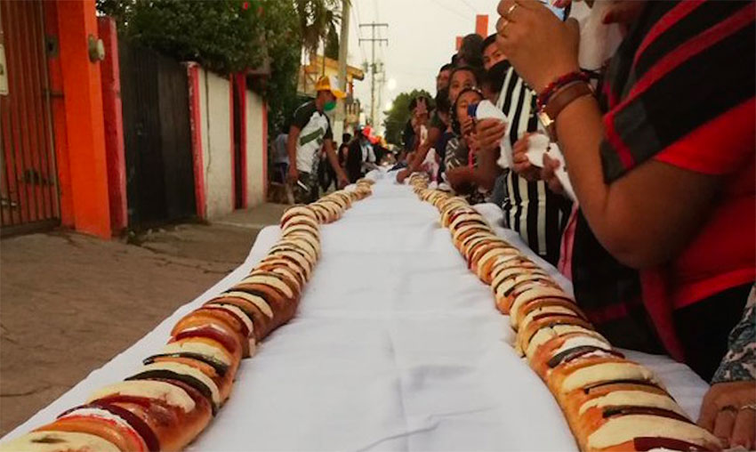 World's longest rosca.