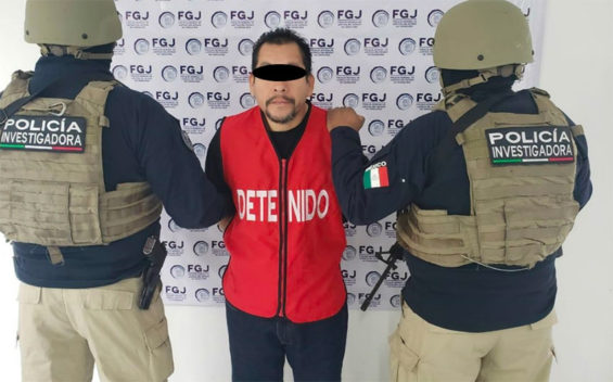 Suspect in the beating death of a woman in Nuevo Laredo.