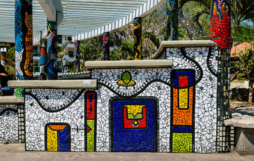 Natasha Moraga's tile work in Puerto Vallarta.
