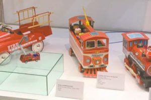 Some of the 6,000 toys collected by the museum's founder, Uncle Temo.