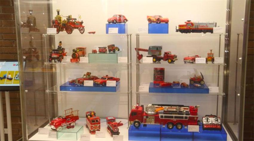 The museum in San Pedro Garza García has 800 toys on display.