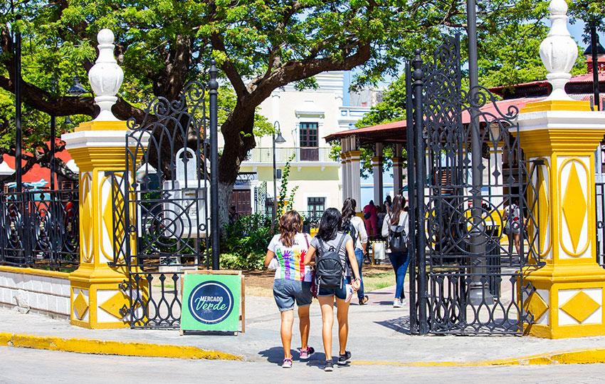 Campeche's Mercado Verde.