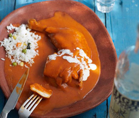 Readers will find a recipe for Pollo Enchipotlado in the new cookbook.