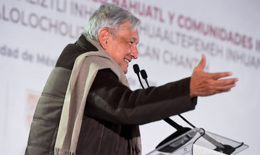 Corruption is now frowned upon, claims AMLO.