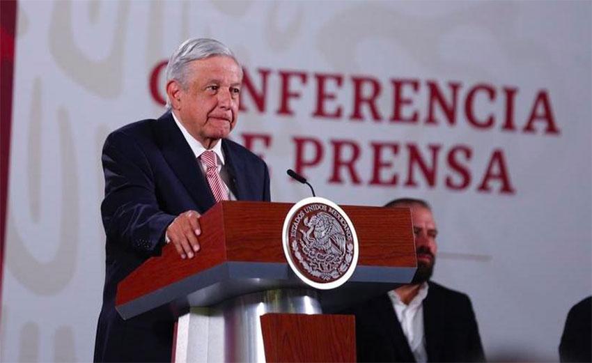 López Obrador: unaware of an investigation.