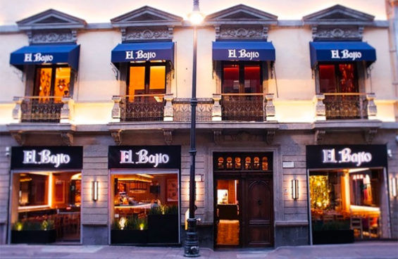 The Bajío restaurant in the historic center.