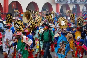 Huejotzingo turns into a battleground during carnival.