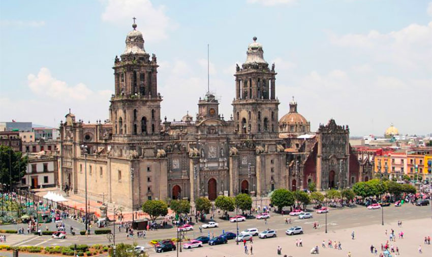 A major restoration project is required to repair quake damage at the cathedral in the city center.