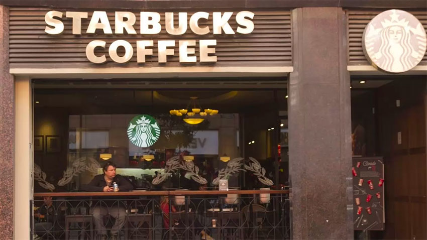 Starbucks is still king in Mexico.