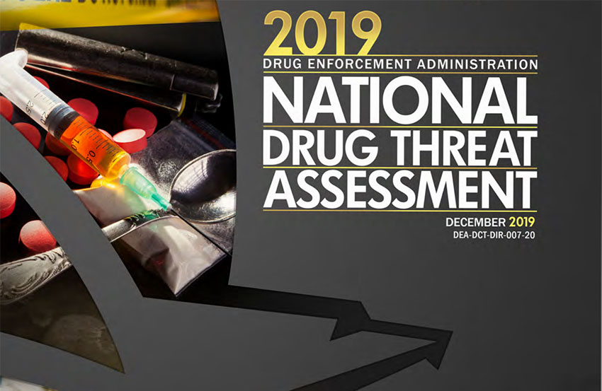 dea national drug threat