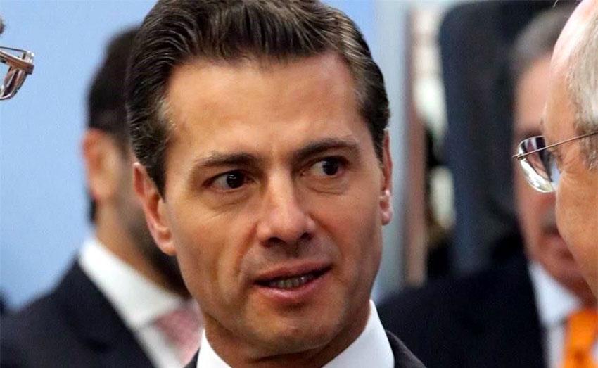 Peña Nieto: 'waste and pillage.'