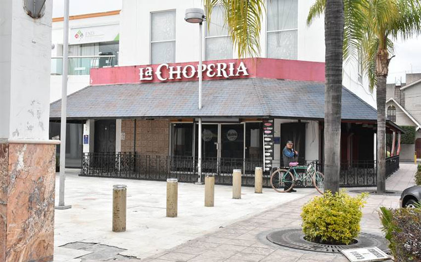 La Chopería is one of the restaurants that have closed in Celaya.