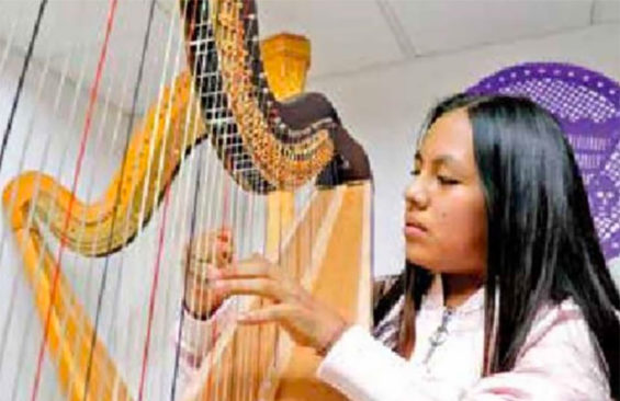 Harpist Morales is off to Carnegie Hall.