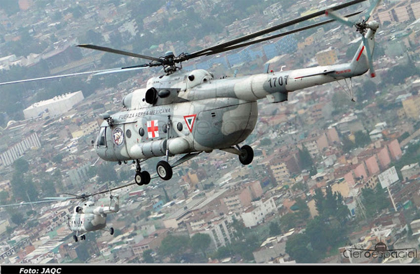 A Russian-made helicopter that is already part of Mexico's fleet.