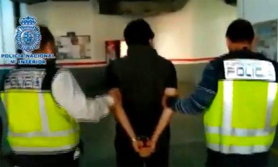 Lozoya during his arrest in Spain on Wednesday.