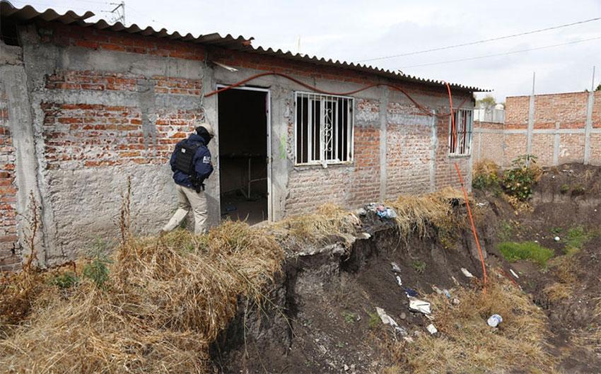 This 'prison' housed El Marro's rivals.
