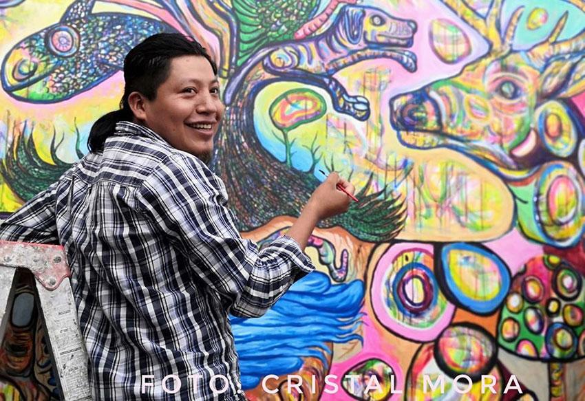 Artist Filogonio Naxín