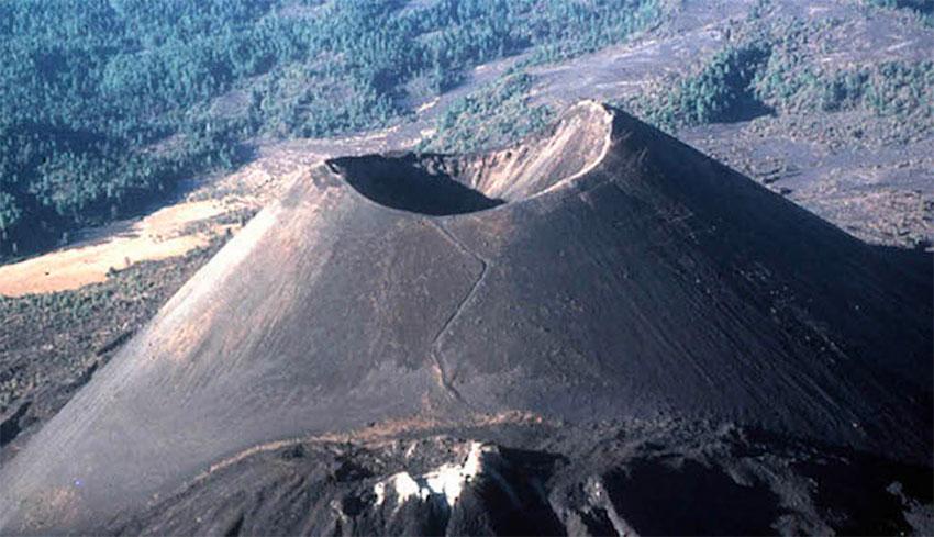 The 77-year-old Paricutín Volcano in Michoacán.