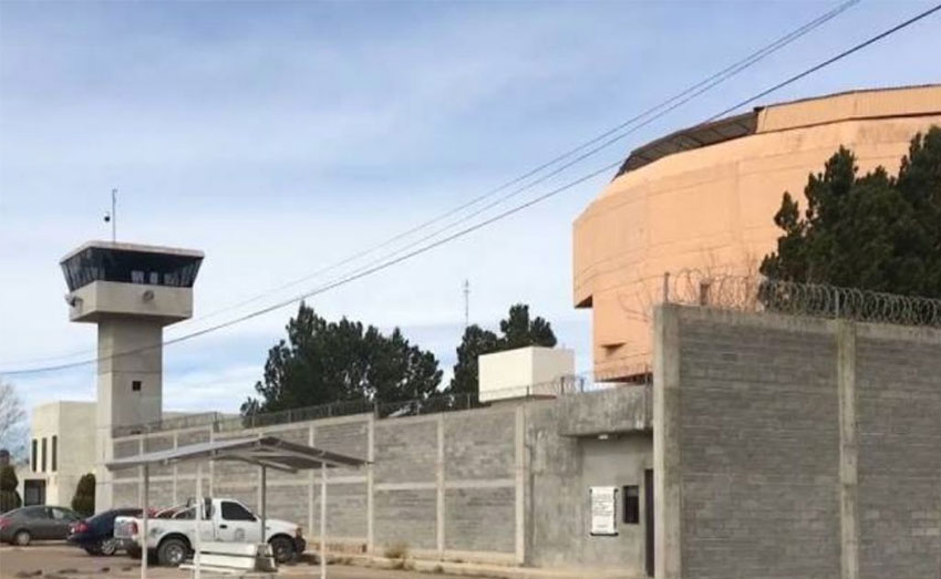 The prison where an inmate was allegedly raped.