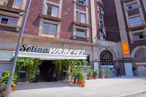 A Selina hotel in Mexico City.