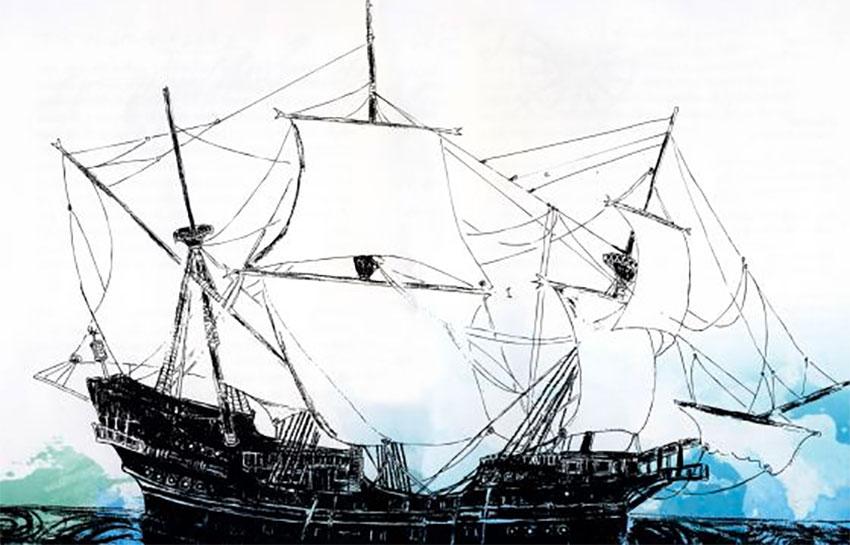 Nuestra Señora del Juncal sank in the Bay of Campeche in 1631.