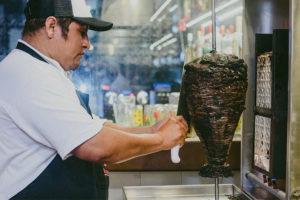 A new twist on tacos al pastor.