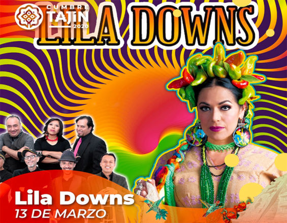 Recording artist Lila Downs will be one of the performers at the Cumbre Tajín.
