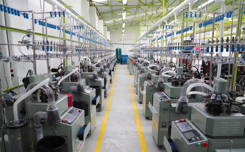 Oaxaca's new sock factory.