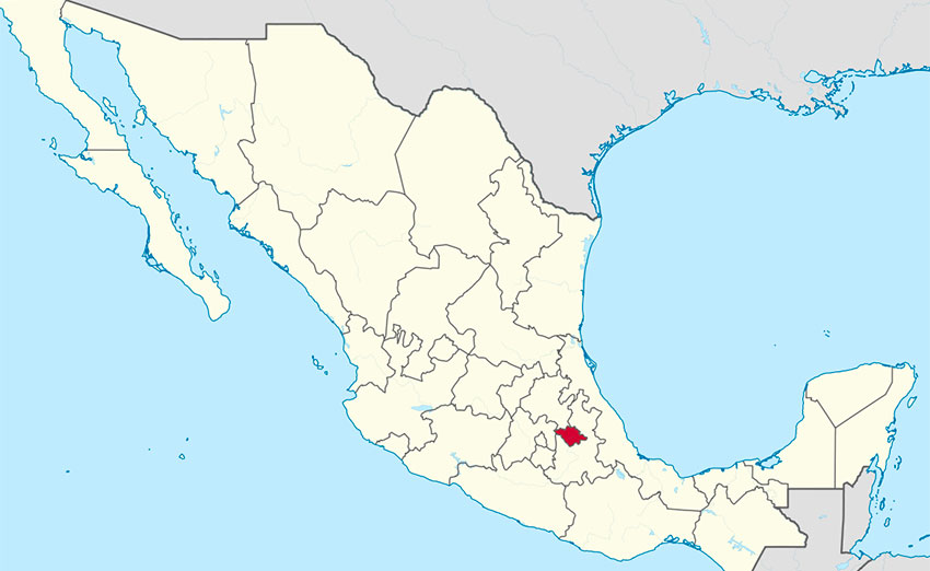 Tlaxcala, where new investment shot up 1,500%.